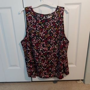 14th & union women's 2X tank top. Never worn.